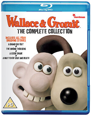 Wallace & Gromit The Complete Collection Blu Ray Animated Comedy Region B