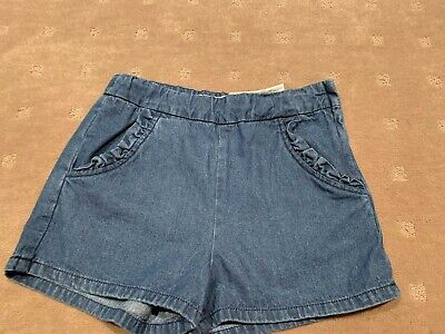 Zara Girls Denim Shorts Size 13/14 Years Brand New With Tags