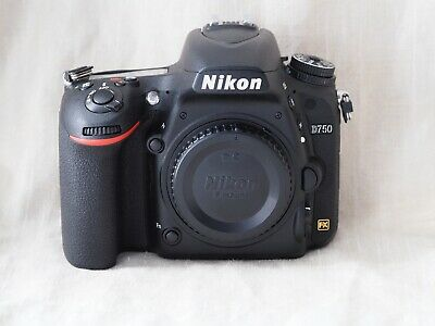 Nikon D750 24.3MP dSLR Camera Body in excellent condition!