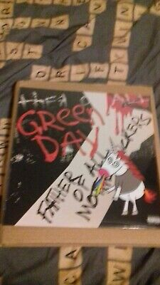 Green day father of all Ltd Edition pink and black Vinyl