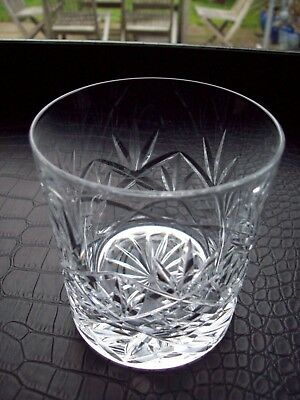 1 X Royal Doulton  Crystal Hellene Double Old Fashioned Whisky Glass