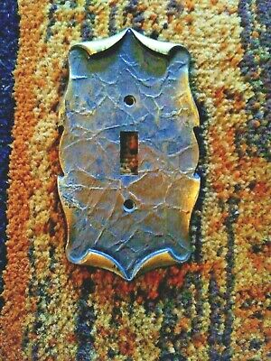 Vintage Amerock Carriage House Switch Plate Cover Bronze