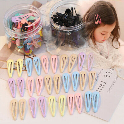 Hair Accessories Snap Hair Clips Girls BB Hairpins Baby Hairgrip Candy Color