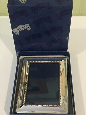 Carrs Sheffield England Sterling Silver Picture Frame In Box