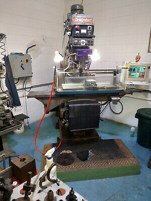 Full Cnc Bridgeport Series 2 Mill 5 Hp Spindle