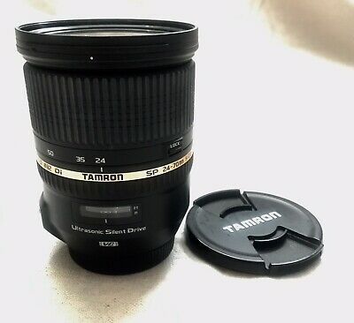 TAMRON SP 24-70mm F/2.8 DI VC USD Lens for Canon-near Mint No Wear On Lens/Body