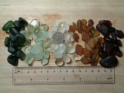 Collection of Seaham sea glass