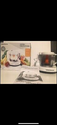 Baby Brezza One Step Baby Food Maker White/Grey