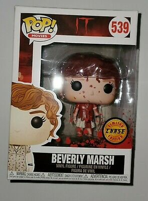 Funko Pop! Movies IT Beverly Marsh Chase Non-Mint Box