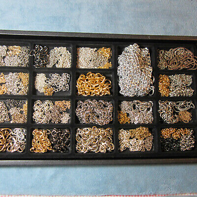 Metal Chains, Various lengths, Types & Sizes for Crafting, Jewelry