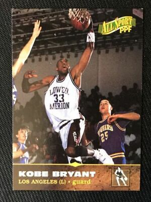 Kobe Bryant 1996 All Sport High School + Lakers Draft Rookie Lot - FREE SHIPPING