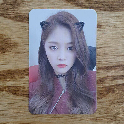 Hyunjin Official Photocard Loona 2nd Mini Album Hash # Monthly Girl Genuine Kpop