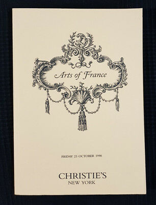 Christies Arts of france 1998 + RESULTS