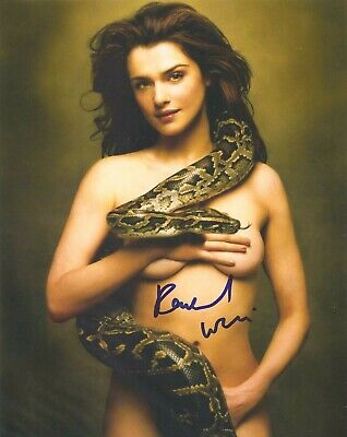 RACHEL WEISZ 8 x 10 PHOTO COA FROM N.A. # 095914