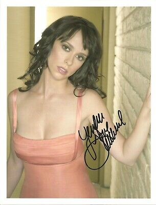 JENNIFER LOVE HEWITT 8 x 10 PHOTO COA FROM N.A. # 404014