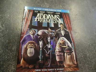 Never Viewed THE ADDAMS FAMILY (Blu-ray + Digital) No Standard Definition DVD