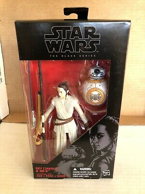 STAR WARS BLACK SERIES 6 Inch - Rey w/ BB-8 and Lightsaber
