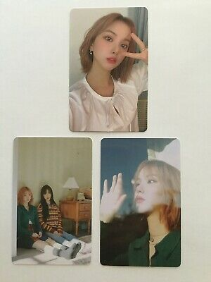 GFRIEND Eunha Labyrinth Mini Album OFFICIAL Photocard + 2 preorder cards Yuju