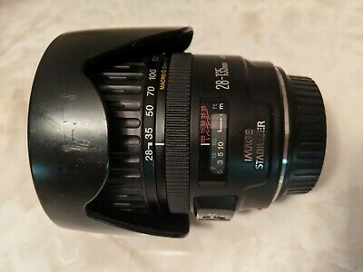 Canon EF 28 mm -135 mm f/3.5-5.6 IS USM - Black