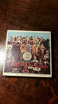 Beatles Sgt Pepper's Lonely Hearts reel to reel tape twin track mono