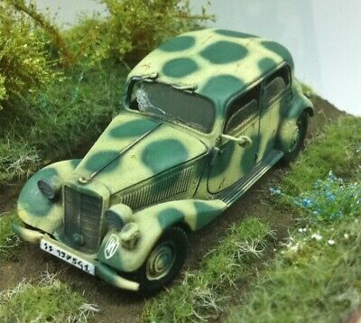 Voiture militaire allemande Mercedes 170V, German army car ,WWII , ALBY 1:72