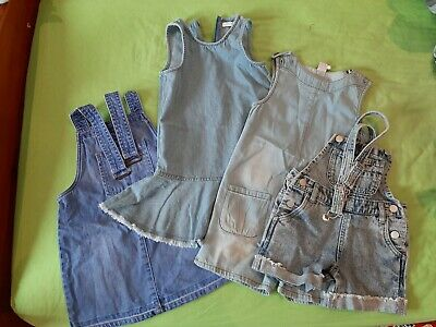 Girls Denim Spring / Summer Bundle Age 4-5 Years / M&S / Next / Mini club