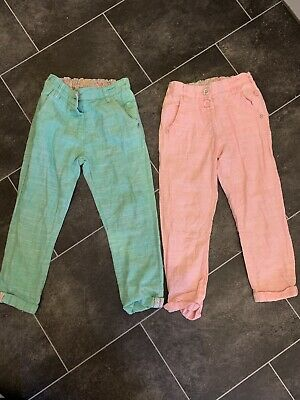 Girls Next Summer Trouses Size 5 Years