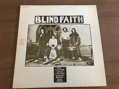 Blind Faith Self Titled Atco Ex/Vg+