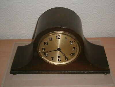 Large Westminster Chime Wooden Mantle Clock(working spares)