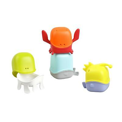 Boon Bath Toys CREATURES Multicolor Encourages hand-eye FREE POSTAGE