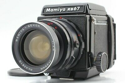 Exc+5] Mamiya RB67 Pro Camera Sekor 65mm f4.5 Wide Lens 120 Film Back From Japan