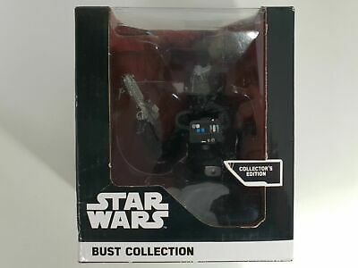 Buste collection figurine résine STAR WARS Altaya Pilote chasseur tie COLLECTOR