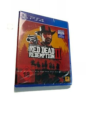 Red Dead Redemption 2    PS 4    NEU    OVP
