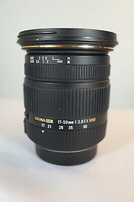 Sigma DC 17-50mm f/2.8 EX HSM DC Lens For PENTAX/RICOH Incredible lens!