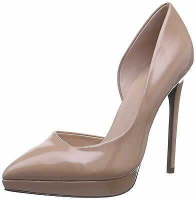 Aldo Giacomina Size 6 39 Dusty Dusky Pink Nude Patent High Heel Court Shoes  New