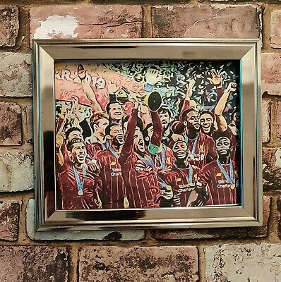 Liverpool FC World Club Champions Football Picture Poster Print
