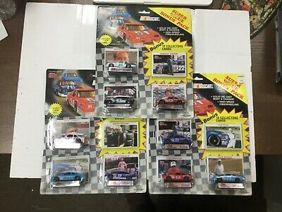 NASCAR Racing Champions Die Cast Cars + Cards (Lot 3)