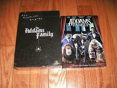 Brand New. The Addams Family the complete series on DVD + new movie. Seasons 1-3