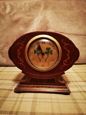 Vintage Wooden Mantle Clock. Not Working needs Attention. For Spares or Repair