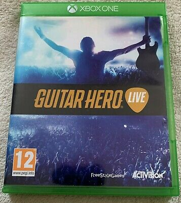Xbox One Guitar Hero Live (Game only)
