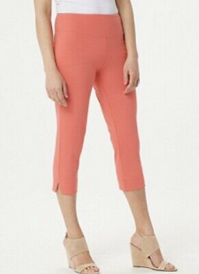 Wicked by Women with Control Regular Pull-on Capri Pants A288782 ~ 4 COLORS!