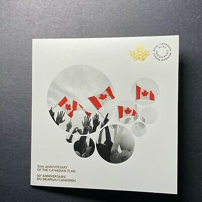 2015 Canada 50Th Anniversary Of The Canadian Flag Coin Card 2 Coins