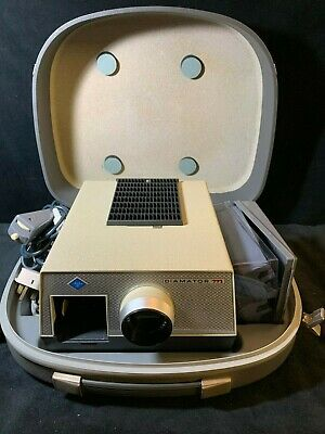 "Agfa Diamator ""M"" Slide Projector - Original with Case - Excellent Condition!!"