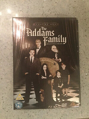 The Addams Family Vol.1 (DVD, 2007, 3-Disc Set, Box Set)