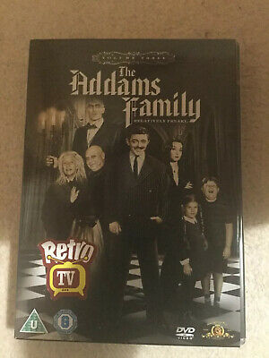 The Addams Family Dvd Vol 3 Box Set