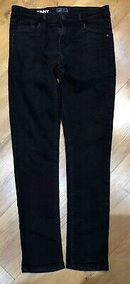 NEXT Boys Skinny Jeans - Black - Adjustable Waist - Age 14 Years