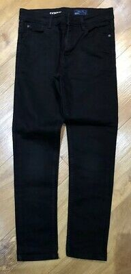 NEXT Boys Skinny Jeans - Black - Adjustable Waist - Age 10 Years