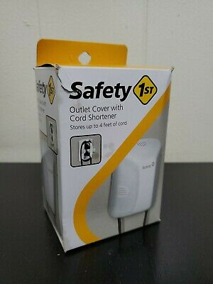 OPEN BOX Safety First 1st Outlet Cover Cord Shortener