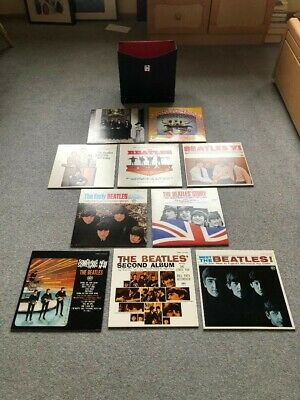 Rare Collection of US Beatles Japanese Pressings Vinyl Box Set Mint-  as new