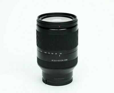 Sony 24-240mm F/3.5-6.3 OSS FE Black E Mount Lens - Excellent!